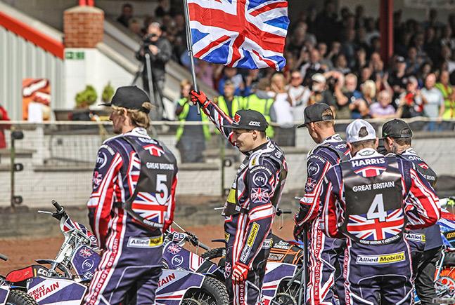 Ronney - Półfinał Speedway on Nations w Manchesterze
